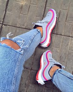Nike Shoes OFF!> Sneakers nike Trending womens shoes Nike shoes Shoes sneakers Sneakers Colorful sneakers - Size B Women S Shoes WomenSShoesVictoria - Air Max 97, Nike Air Max, Nike Shoes Outfits, Shoes Sneakers, Shoes Jordans, Women's Shoes, Colorful Sneakers, Colorful Nike Shoes, Sneaker Store