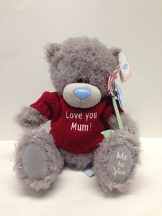 Personalised Me to You Mother's Day bear from Say it with Bears Personalised Teddy Bears, Love You Mum, Tatty Teddy, Toys, Personalized Teddy Bears, Activity Toys, I Love You Mom, Clearance Toys, Love Mom