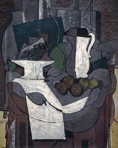 Georges Braque - The Bowl of Grapes – 1926