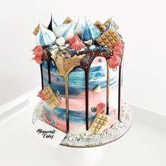 3,144 vind-ik-leuks, 1 reacties - The Book Of Cake (@bookofcake) op Instagram: 'A vanilla and raspberry cake @margueritecakes #bookofcake'