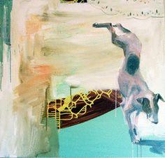 Painting and collage 2008-07-06 - Randi Antonsen