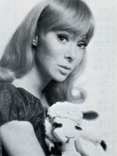 Shari Lewis with Lambchop~loved them both~she amazed me throwing her voice