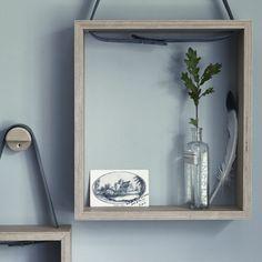 Leather & Oak Theal Box Shelves