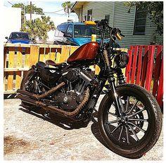 My Harley sportster bobber