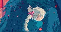 """Howl's Moving Castle - """"They say that the best blaze burns brightest, when circumstances are at their worst."""""""