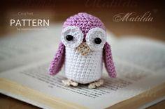 Crochet Pattern Matilda The Owl by ZoomYummy on Etsy, $3.70