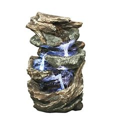 Design Toscano Glacier Peak Cascading Garden Fountain >>> Details can be found by clicking on the image.