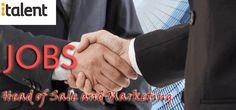 Head of Sale and Marketing Jobs in italent in UAE, Dubai Visit jobsingcc.com for more info @ http://jobsingcc.com/head-sale-marketing-jobs-italent/