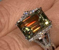 Zultanite ring by Kat Florence