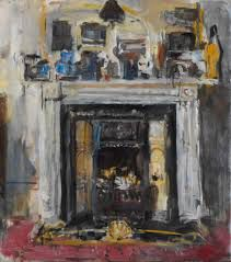 Fireplace - Anthony Eyton