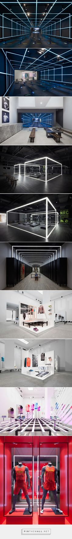 coordination asia installs the NIKE studio within beijing gallery - created via http://pinthemall.net