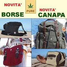 Borse in Canapa e Cotone Bio