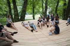 Gallery of Uwo By Workshop / Woven - 7 Urban Furniture, Street Furniture, Urban Landscape, Landscape Design, Landscape Architecture, Architecture Design, Urbane Analyse, Outdoor Spaces, Outdoor Living