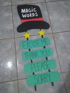 Magic Words Preschool is part of Preschool classroom decor - Preschool Classroom Decor, Classroom Board, Classroom Rules, Classroom Displays, Preschool Learning, Kindergarten Classroom, Preschool Activities, Manners Preschool, Preschool Class Rules