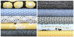 Madrona Road fat quarter bundle--10 pieces---2-1/2 yards total--Violet Craft for Michael Miller Fabrics. $26.25, via Etsy.
