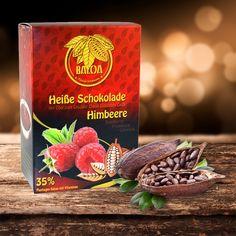 """Heiße Schokolade Himbeere  Feinstes Himbeeraroma mit mindestens 35% Spitzen- Plantagen-Kakao und einer ausgewogenen Mischung an wichtigen Vitaminen! BALOA heißt """"Gesund Genießen""""  Probieren Sie unsere neuesten Produkte aus dem Hause Henosa/Plantanas und lassen Sie sich von der einzigartigen Qualität begeistern  und überzeugen. Noch mehr von diesen tollen Produkten finden Sie hier: http://teefeinkost-sigmaringen.de"""