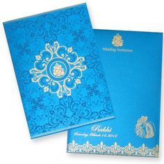 Find a very beautiful Indian Wedding Card at