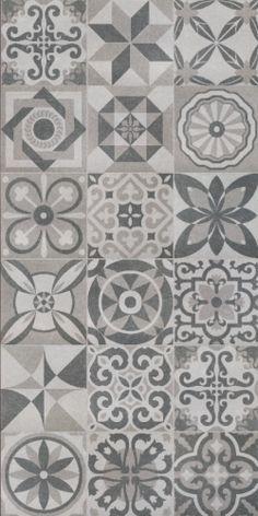Resultado de imagen de vintage kitchen tile