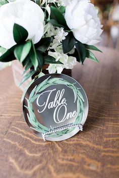 Mirror Table Numbers for Wedding Table Centerpiece Decor, Colorful Chic Table Number Signs for Pretty Wedding Decorations (Item - Mirror Centerpiece, Wedding Table Centerpieces, Wedding Table Numbers, Reception Decorations, Centerpiece Ideas, Reception Ideas, Wedding Flowers, Wedding Day, Decor Wedding