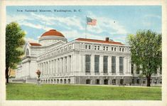 The history of postcards via Smithsonian Institute Archives Dc United, United States, Washington Dc, Snoqualmie Falls, National Museum, Vintage Postcards, Taj Mahal, This Is Us, Mansions