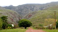 Mountains in Greyton - Western Cape - South Africa (140 km from Cape Town)