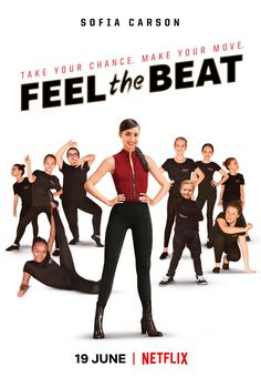 Sofia Carson Stars in 'Feel The Beat', Now on Netflix
