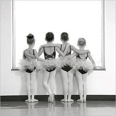 awww, sweet. four little swans :))