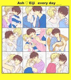ash and eiji fanart Fanarts Anime, Anime Characters, Manga Anime, Cute Anime Boy, Anime Guys, Banana Art, Ecchi, Shounen Ai, Anime Kawaii