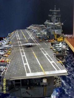 USS Enterprise CVN 65 1/350 By Louis Carabott
