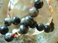 Labradorite, silver 925