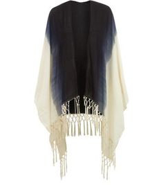 "Opt for a light cover up with this ombre tassel hem wrap - throw over summer holiday evening styles with ease.- Ombre design- Open front- Tassel hem- Casual fit- Longline design- Model is 5'8""/176cm and wears UK 10/EU 38/US 6"