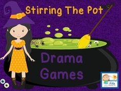 Stop Stirring The Pot of Drama by recognizing what drama is, how it impacts others, and alternative ways of expressing feelings. Playful activities A pot of drama potion questions that encourage thoughtful sharing of feelings from personal expe Elementary School Counseling, School Social Work, Group Counseling, Counseling Activities, School Counselor, Elementary Schools, Drama Activities, Drama Games, Social Skills Activities
