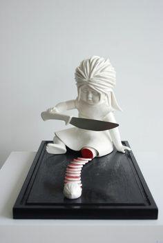 Maria Rubinke's Grotesque Ceramic Sculptures   Hi-Fructose Magazine