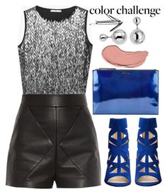 """Untitled #362"" by trinirockstarr ❤ liked on Polyvore featuring MANGO, Balenciaga, Nine West, Lipsy, McQ by Alexander McQueen and NYX"