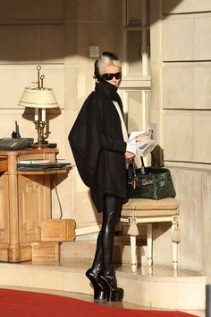 Daphne Guinness is the epitome of grace and kindness.She has a heart of gold and a beautiful soul.