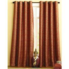 Sunset Plume Curtain - pier one