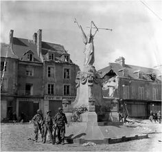 aerial photo of carentan wwii - Google Search