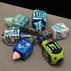 Lot of 6 Small Dreidels Chanukah Hannukah Vintage | eBay