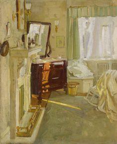 Helen McNicoll, Interior, c. 1910. Oil on canvas, 55.9 x 45.9 cm. Art Gallery of Ontario, Toronto. #ArtCanInstitute #CanadianArt