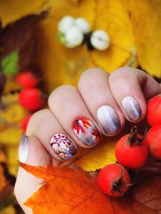 Осенний маникюр
