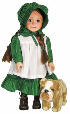 Have you pre-ordered the official Laura Ingalls doll yet or her trusted companion Jack?
