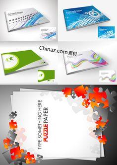 Brochure design vector graphic download