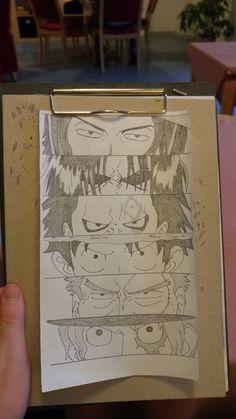 Portgas D. Ace, Gol D. Roger, Monkey D. Dragon, Monkey D. Luffy, Monkey D. Garp, Sabo