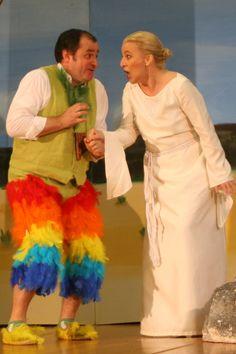 Kostüme Pamina und Papageno, Oper Zauberflöte