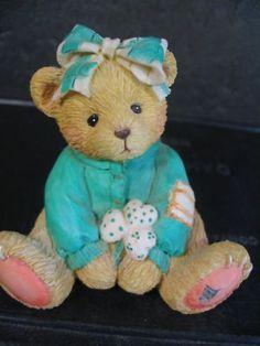 Cherished Teddies Kathleen Irish Girl Bear | eBay