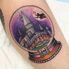 Globo tattoo. Old school.