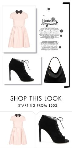 """""""Black&blush"""" by iewj ❤ liked on Polyvore featuring Miu Miu, Yves Saint Laurent and Michael Kors"""