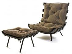 Poltrona Costela designed by Martin Eisler (1950's)