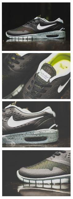 Nike SB Koston 2 Max: Black/Venom Green/Grey