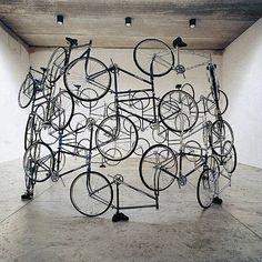 orever Bicycles de l'artiste Ai Weiwei